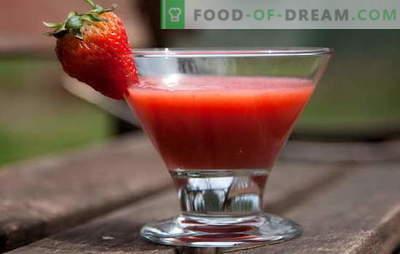 Kako kuhati škrobni žele mora poznati vsako gostiteljico! Pripravite pravi žele iz škroba in jagod, marmelade, hibiskusa, mleka