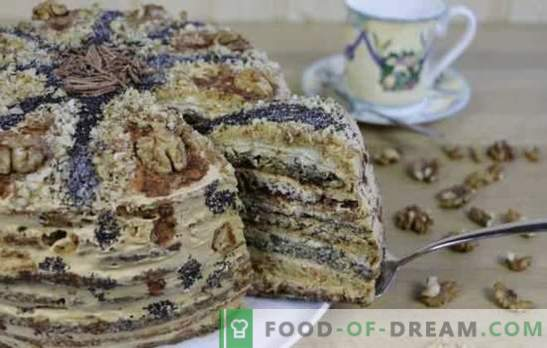 Ladies Caprice Cake - privoščimo si sladkarije! Recepti za med, mak, oreh, čokoladne pogače