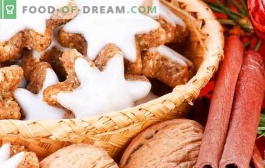 Glaze za piškotke: ustvarite mojstrovino! Recepti za različne glazure za piškote: beljakovine, čokolada, sladkor, med, karamel