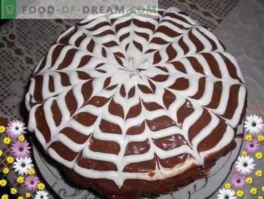 Velika praška torta: recepti s fotografijami, kuhanje po korakih. Izbor receptov najboljših praških torte s fotografijami