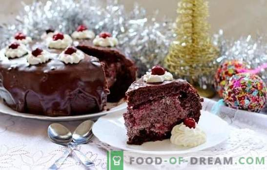Čokoladna torta z češnjo - brez komentarjev! Avtorski recepti: improvizacija na temo čokoladne tortice z češnjo