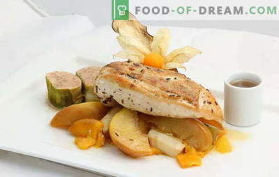 Omake in obveze za ocvrti piščančji file. Recepti ocvrtega piščančjega fileja - od vrtnarije do dietne kuhinje