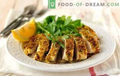 Peito de frango cozido no vapor em um fogão lento - sem problemas! Receita de peito de frango cozido no vapor em um fogão lento, com legumes, cogumelos, guarnições
