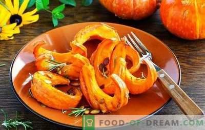 Koristne bučne jedi za vitkost, zdravje, lepoto! Recepti za svetle, okusne in zdrave jedi iz buče