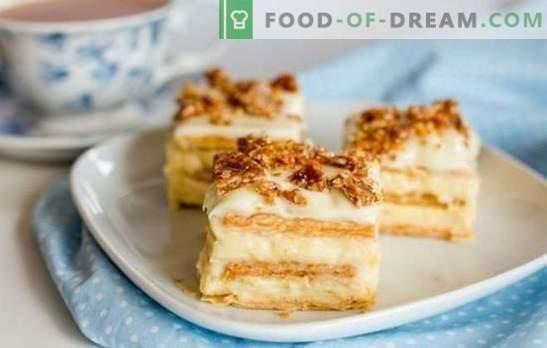 Kako narediti originalno torto iz krekerjev brez peke. Slastne torte brez krekerjev: hitri in preprosti recepti