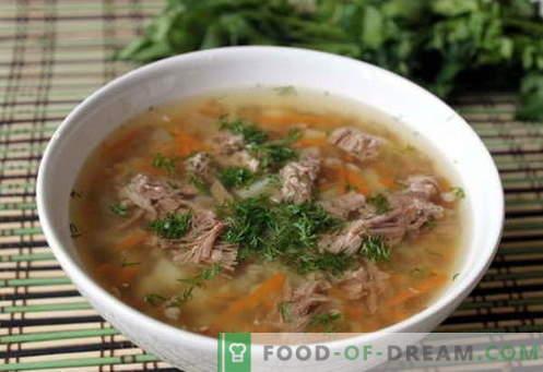 Ajdova juha - najboljši recepti. Kako kuhati ajdovo juho in okusno.