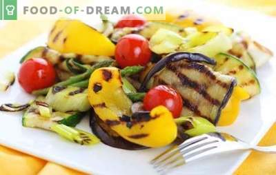 Marinada za zelenjavo - dajete nov okus! Recepti različnih marinad za zelenjavo na žaru, žaru in pečici