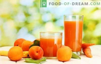 Marelični sok za zimo - sončna pijača! Različni načini nabiranja soka iz marelice za zimo doma
