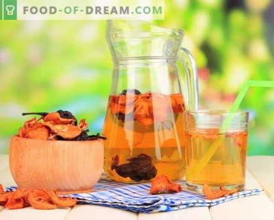 Kompot iz suhega sadja - najboljši recepti. Kako pravilno in okusno kompot iz suhega sadja.
