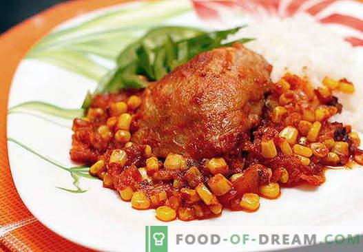 Mehiški piščanec - najboljši recepti. Kako pravilno in slastno kuhati mehiški piščanec.