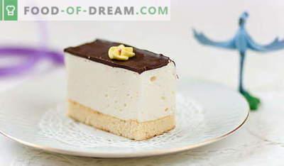 Cake Bird's Milk - najboljši recepti. Kako pravilno in okusno kuhati doma torto Ptičje mleko.