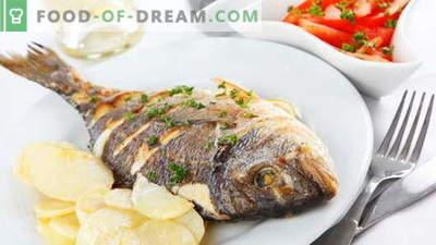 Pražena riba - najboljši recepti. Kako pravilno in okusno kuhati ocvrte ribe.
