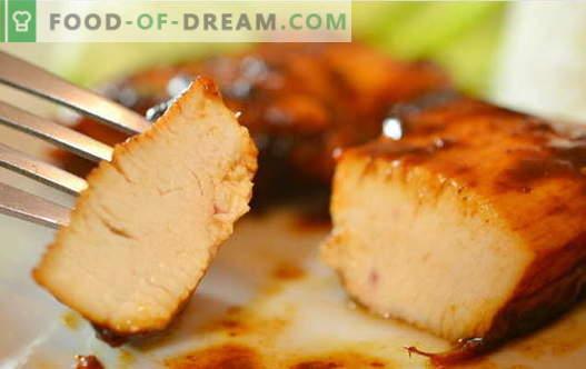 Piščanec v sojini omaki - najboljši recepti. Kako pravilno in okusno kuhati piščanca z sojino omako.