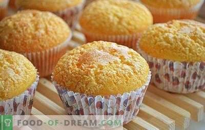 Klasični kolački - popolni so! Ameriški in naši recepti za klasične muffine s čokolado, jagodami, rozinami