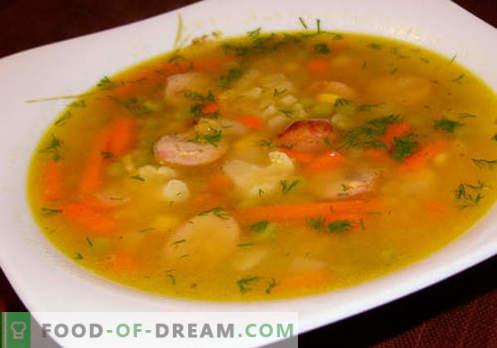 Kuhane juhe - Dokazani recepti. Kako pravilno in okusno kuhati juho iz obara.