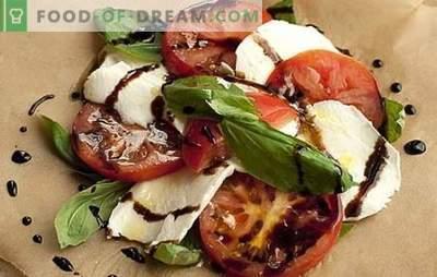 Mocarela s paradižnikom - uresničuje se italijanska pravljica. Mozzarelo s paradižnikom uporabljamo na različne načine in ... uživamo!
