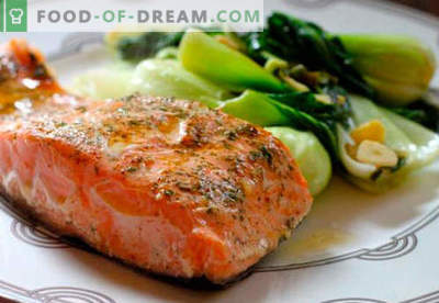 Pečeni losos so najboljši recepti. Kako pravilno in okusno kuhati lososa, pečen v pečici.