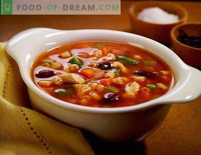 Solyanka juha - najboljši recepti. Kako pravilno in okusno juho juho.
