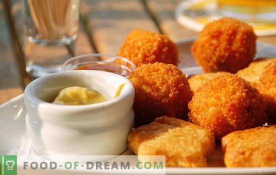 Nuggets doma - veliko okusnejše od kupljenih! Vsakdo, ki ljubi hitro prehrano: recepti za domačo roganje