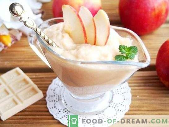 Jabolčni deserti na počitniški mizi