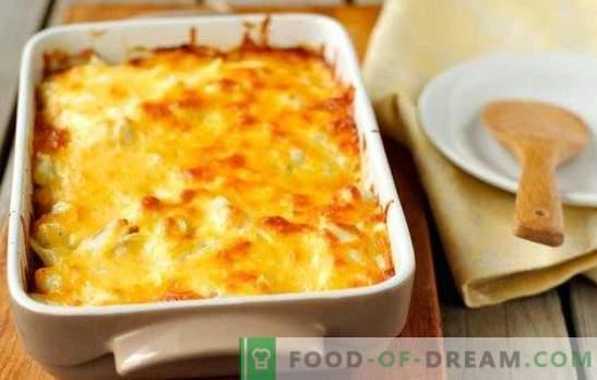 Gratin z mletim mesom - pečemo krompir v francoskem jeziku! Kuhanje krepkega in okusnega gratina z mletim mesom in paradižnikom, gobami, bučkami