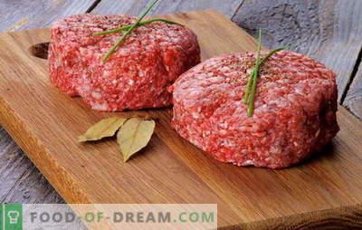 Kosi brez kruha - okusni in dietni! Skrivnosti kuhanja mesnih kroglic brez kruha iz mesa in rib, v ponvi in pečici: recepti za vsak okus