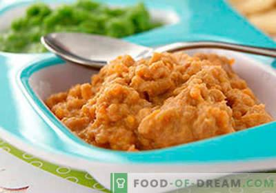 Liha püree - parimad retseptid. Kuidas õigesti ja maitsvalt küpsetada lihapüree.