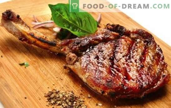 Svinjska kost - recepti za najbolj okusno meso. Kako kuhati svinjino na kosti v pečici, v loncu in na štedilniku