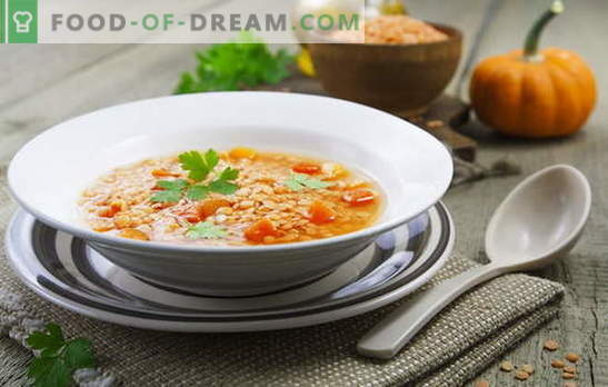 Juhe iz rdeče leče - začinjene in pikantne. Nacionalni recepti za krepke in nehranilne rdeče juhe iz leče