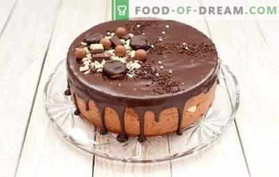 Pecivo je čokolada. Preprosti recepti za kolače: češnje, med, oreški, suhe slive, pečice in multicooker