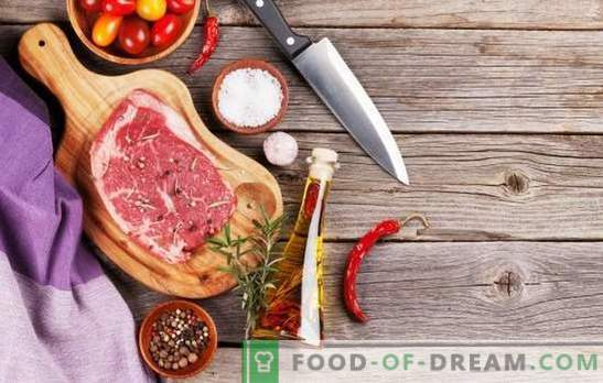 Kakšne začimbe so potrebne za meso in ki jih v nobenem primeru ni mogoče uporabiti?