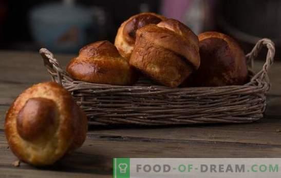 Brioche Buns - Francoski Gourmet! Recepti za pecivo
