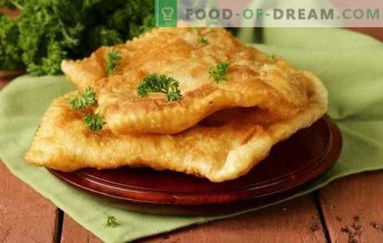 Чебурек бутер - хрупкави сладкиши. Чебуреки от бутер тесто с месо, гъби, сирене, шунка или извара