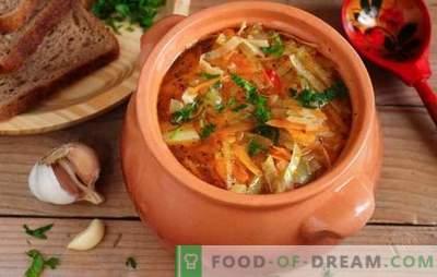 Zelje v loncu: retrospektiva, kot osnova sodobne ruske kuhinje. Recepti zelja zelje zelja - preprosto in okusno!