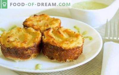 Krompirjevo testo z mletim mesom v pečici: pečenje ali pecivo? Kuhanje hranilne, enostavne in okusne krompirjeve glavice z mletim mesom v pečici