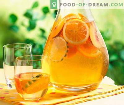 Kompot iz pomaranč - najboljši recepti. Kako pravilno in okusno kompot iz pomaranč.