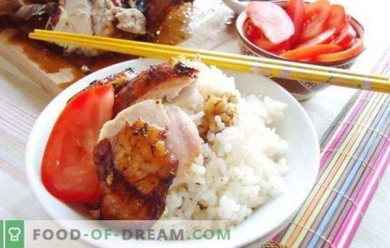 Marinada za piščance s sojino omako: mehko meso z orientalskim okusom. Recepti za piščančjo marinado s sojino omako in medom, jogurtom, kefirjem