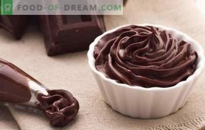 Čokoladni ganache za pokrivanje tort - recepti in kuhanje. Vsa pravila in recepti čokoladnih ganas za torte