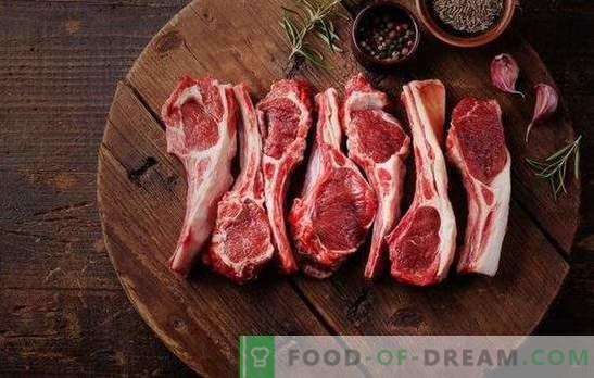 Kakšne začimbe niso primerne za jagnje, in ki niso združene z njimi