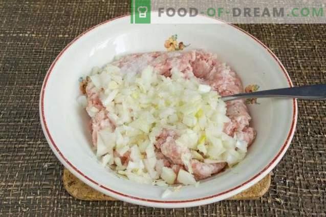 Krompirjevi cmoki z mesom