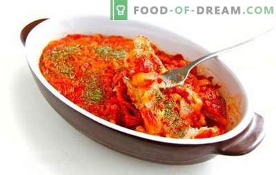 Najlažji recept za ribje omako z korenjem in čebulo. Različne ribje omake z korenjem in čebulo - okusno presenečenje za ljubljene