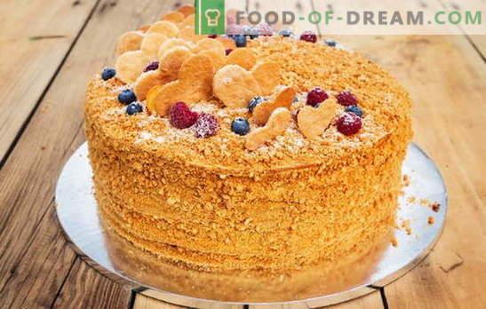 Medovikov recept doma, za tiste, ki so utrujeni od torte. Kuhanje medu doma po unikatnih receptih