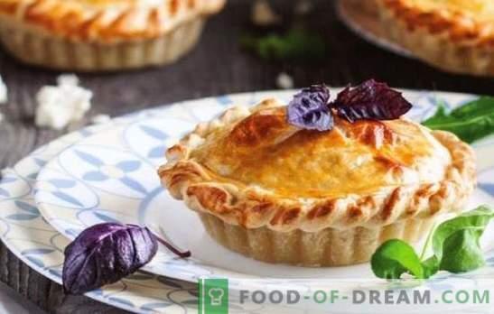 Pita s sirom adyghe - razkošna aromatična peciva. Recepti za odprte in zaprte sirne pite Adygei