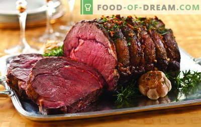 Okusne mesne jedi: gurmanska praznična miza. Brezhibne ideje za vroče mesne jedi za posebne trenutke življenja