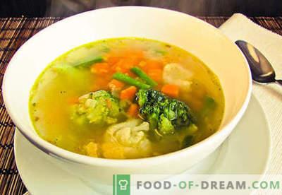 Vegetarijanska juha - preizkušeni recepti. Kako kuhati vegetarijansko juho in okusno.