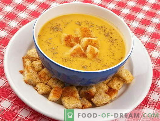Juha s kockami - najboljši recepti. Kako pravilno in okusno kuhati juho s kockami.