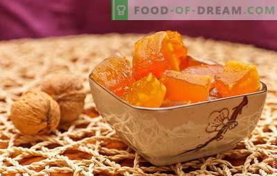 Kandirane buče doma - zdravljenje gostov! Znani in izvirni recepti bučnih sladkorjev doma