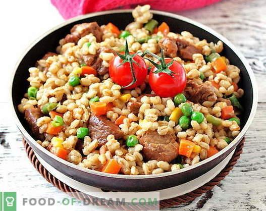 Meso ječmen - najboljši recepti. Kako pravilno in okusno kuhamo ječmenovo meso.