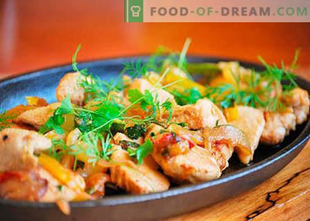 Piščančji file - najboljši recepti. Kako pravilno in okusno kuhati piščančje file.