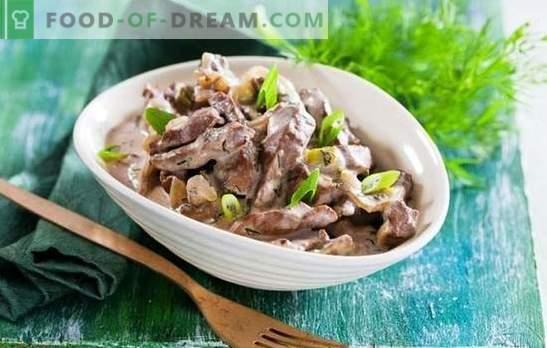 Goveja jetra v počasnem štedilniku - recepti za vsak dan! Preprosti, hitri in okusni recepti za jetrno goveje meso v počasnem štedilniku